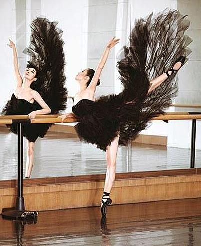 Inspiration for a #ballet themed #Halloween costume Pic courtesy of our friends at #Bloch Australia