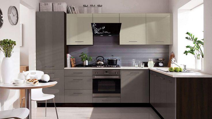 New High Gloss Kitchen Set Tapo Plus   Modern Complete Kitchen 11 units
