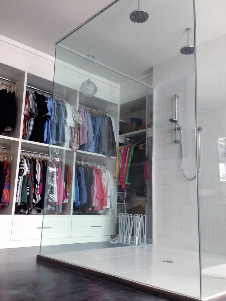 custom built walk-in next to your shower by trandkitchens.com
