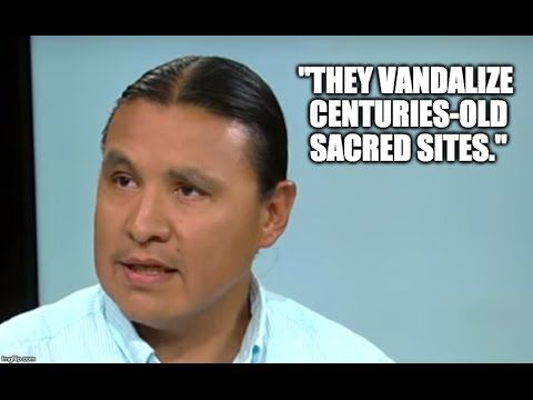 "Chase Iron Eyes – Firsthand Account Of Dakota Pipeline Protests | Redacted Tonight | Published Sep 16, 2016 | https://youtu.be/-ad-zdNNCnU | ""Chase Iron Eyes, a candidate for Congress, was also one of the Standing Rock Sioux fighting against the Dakota Access Pipeline. He gives his account of the horrible treatment of protesters at the pipeline and talks about his run for Congress."" Click to watch and share video (8:32)."