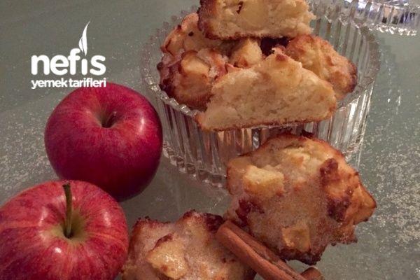 Şekerli Tarçınlı Elmalı Puf Çörekler