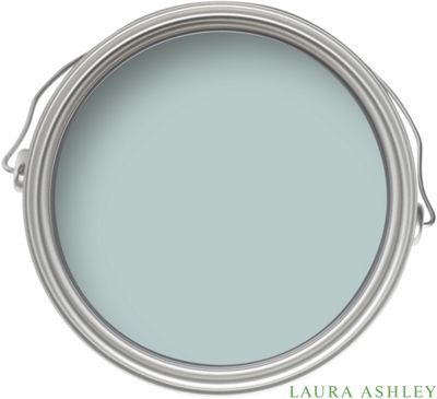 Laura Ashley - Duck Egg  One of my favourite colours, will be the colour in the kitchen and bedroom!