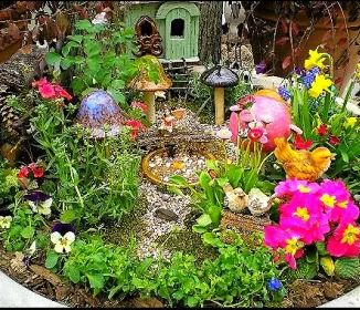 make a fairy garden tips to make your garden magical fairy garden ideas