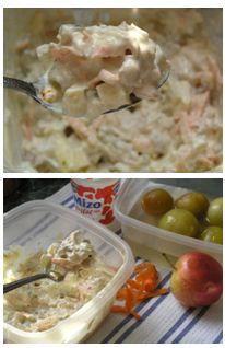 Majonézes hússaláta - Így főz anyátok