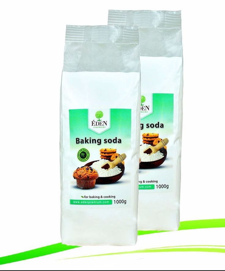 Baking Soda, Backsoda, Natriumhydrogencarbonat 2x1000g