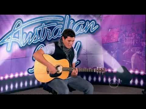 Stan Walker audition for Australian Idol - young Maori boy who went on to be a great singing sensation.    Uploaded to Youtube by dhealy2003 in August 2009