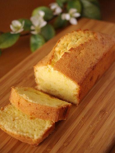 アーモンド生地とホワイトチョコレートの簡単本格パウンドケーキ
