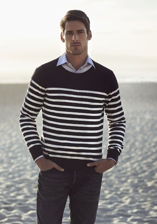 47 best images about Menu0026#39;s Stripes Style on Pinterest | Striped shirts Striped sweaters and Shops