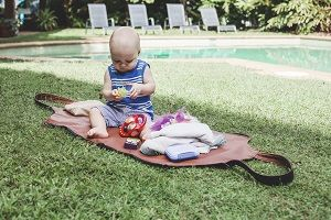 Bella Baby Bag - Open as Nappy change or playmat