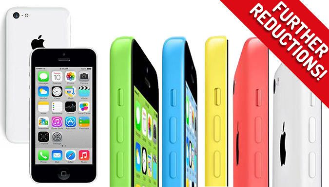 Buy Grade A Refurbished 16GB or 32GB iPhone 5C - 5 Colours for just £94.99 An iPhone refurbished and rebooted just for you; the Grade A Refurbished iPhone 5C      Available with 16GB or 32GB worth of memory      Available in blue, pink, white, green, yellow      Features include touchscreen control, bluetooth, camera, GPS, email, internet and more      Professionally tested and verified as...