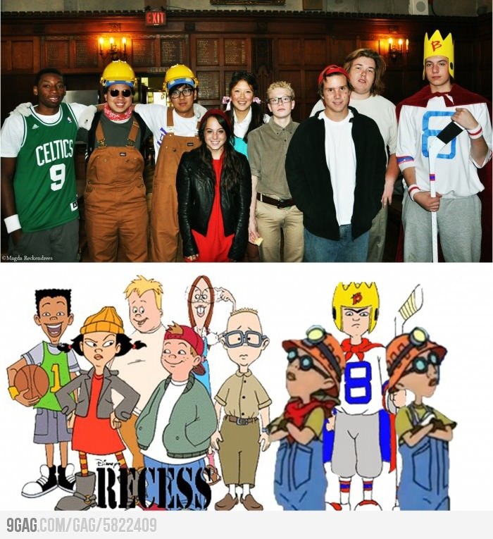 Recess Cosplay. I miss that show!