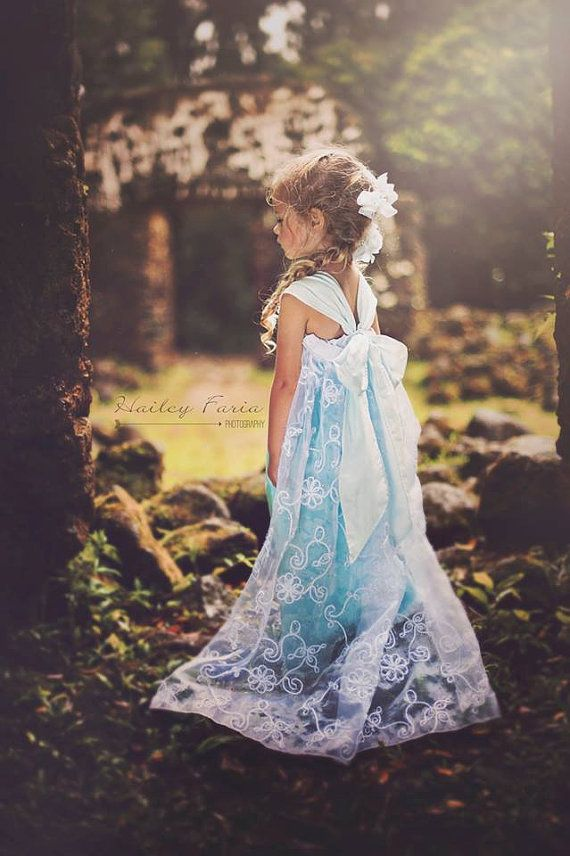 ABSOLUTELY beautiful Dress!  Springtime 'Delle dress  Elsa Inspired Everyday by LilyShine, $75.00