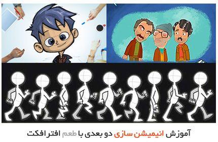 آموزش انیمیشن سازی دو بعدی در افترافکت