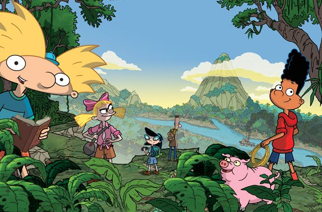 The Trailer and New Art for Hey Arnold!: The Jungle Movie   The trailer and new art for Hey Arnold!: The Jungle Movie  Nickelodeon fans of all ages are getting a Thanksgiving treat this year as the highly-anticipated brand-new Hey Arnold!: The Jungle Movie bows Friday Nov. 24 from 7:00-9:00 p.m. (ET/PT). Featuring a storyline picking up where the original TV series ended in 2004 Hey Arnold!: The Jungle Movie follows the kids on the field trip of a lifetime where Arnold and his friends embark…