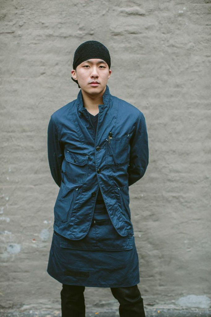 Cult menswear designer Daiki Suzuki made some hardy uniforms for ramen restaurant Ippudo NY.