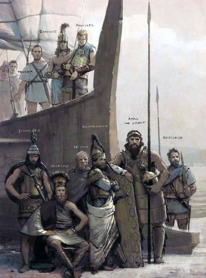 the iliad and greek heroes The iliad of homer and greek heroes essay - the iliad is an epic tale of war and hero's within the greek way of life a predominant and .