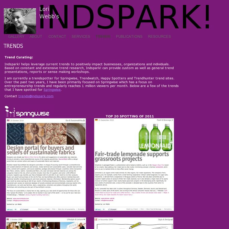 Website 'http://indspark.com/INDSPARK/TRENDS.html' snapped on Snapito!