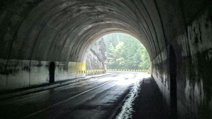 Tunnel at Bicaz Gorge, Romania