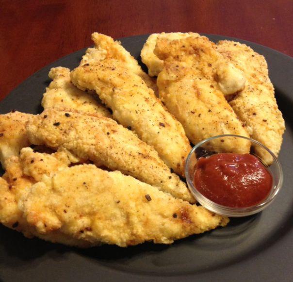 Kid Favorite Paleo Chicken Tenders and Paleo Ketchup