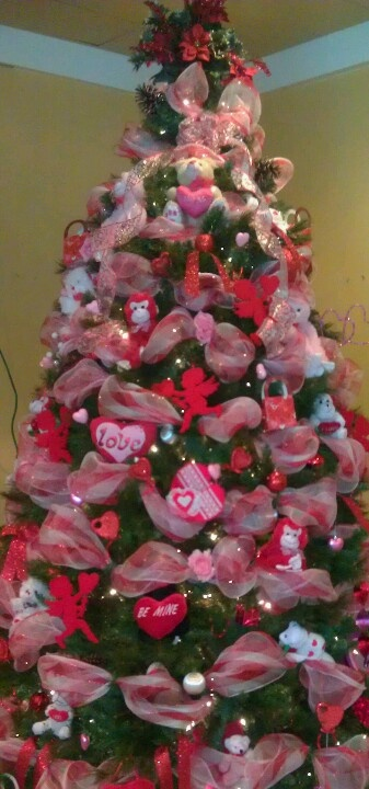 Valentine S Day Tree Valentines Day Pinterest Valentines