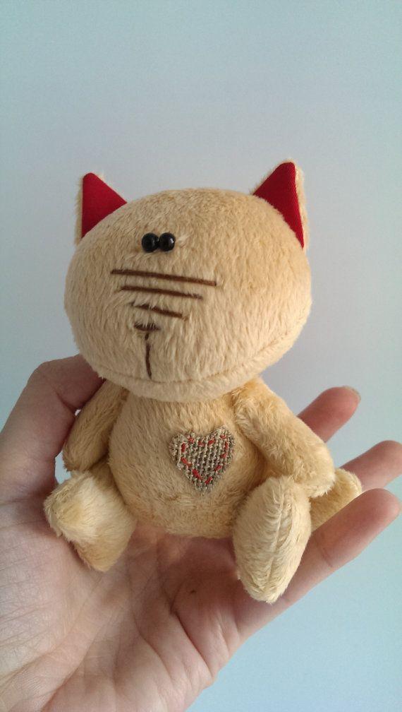 Кот. Игрушка мягкая. от KotOmkaRU на Etsy
