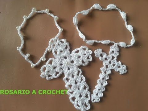 How To Crochet A Very Easy And Lovely Cross - DIY Crafts Tutorial - Guidecentral - YouTube