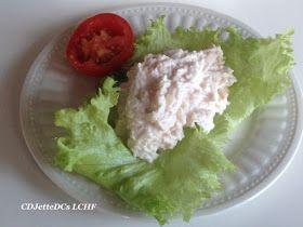 Skinkesalat som forret, til frokost eller til madpakken. Opskrift findes på CDJetteDCs LCHF