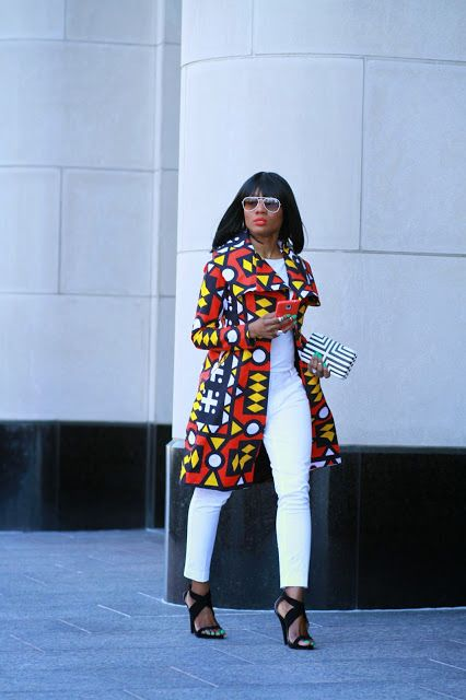 Ankara Street Style Edition: The Angola Trench Jacket