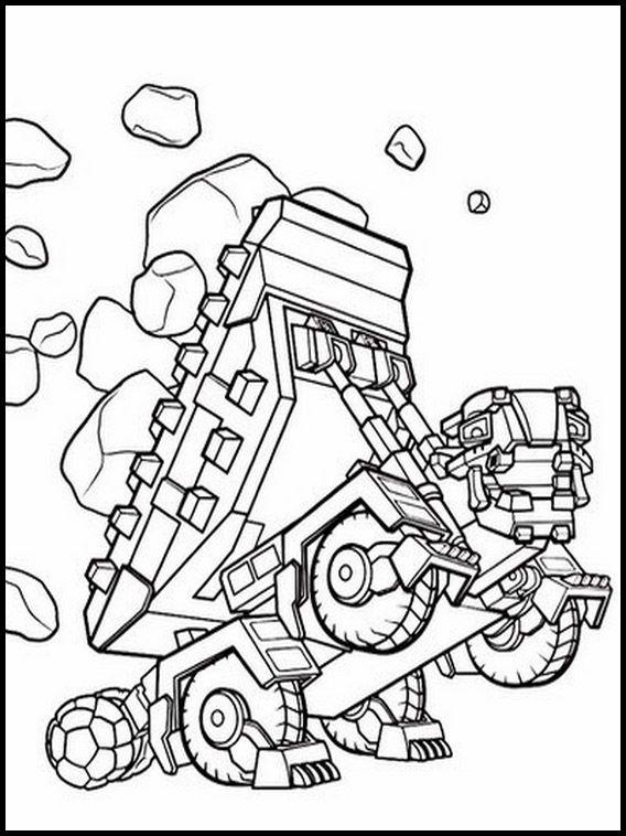 Fargelegging Tegninger For Barn Dinotrux 6 Fargelegging Tegning For Barn For Barn