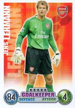 2007-08 Topps Premier League Match Attax #1 Jens Lehmann Front