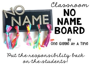 """Put an end to the hassle of searching for the owners of nameless papers with this Classroom No Name Board! Hang this up on a wall or on the board and simply clip nameless papers to it! Put the responsibility back on the students to retrieve their papers from the No Name Board!Board Dimensions: 11 3/4"""" X 5 3/4"""" X 1/4""""This is a hard good that will be shipped to you, usually within 7 to 10 days of placing your order."""