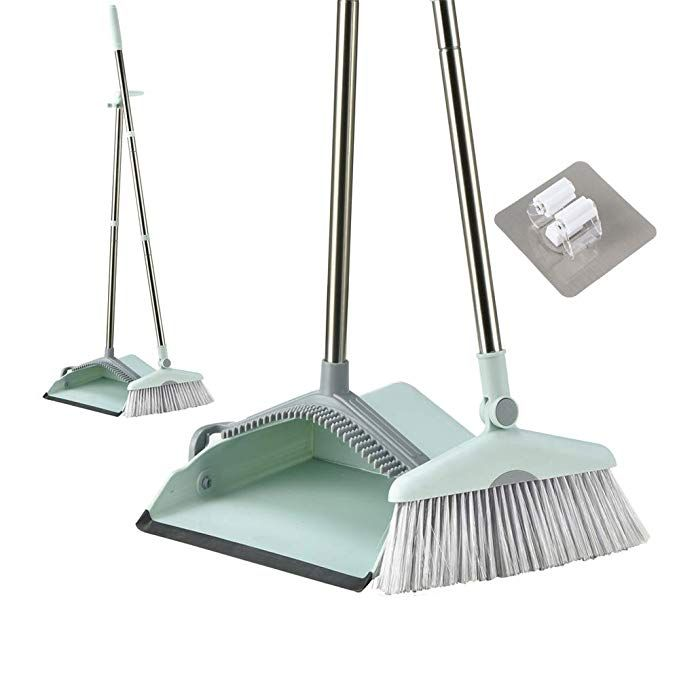 Broom And Dustpan Set 2 Long Handled Brooms With Bonus Extra Small Dust Brush Perfect Broom And Dustpan Foyer Design Broom Dust pan and broom sets