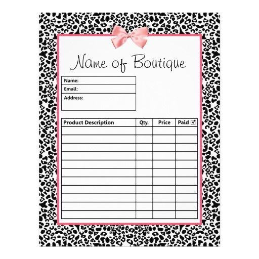 The 25+ best Order form ideas on Pinterest Order form template - blank order form