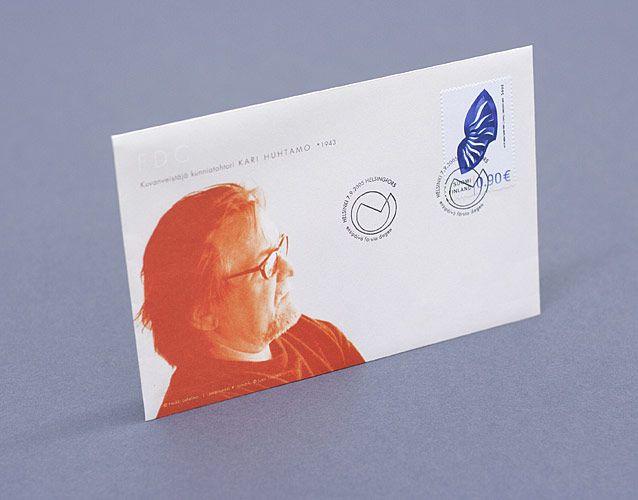 Hahmo   Posti: Kari Huhtamo -postimerkki & omakuvapostimerkkipohja   Kari Huhtamo stamp