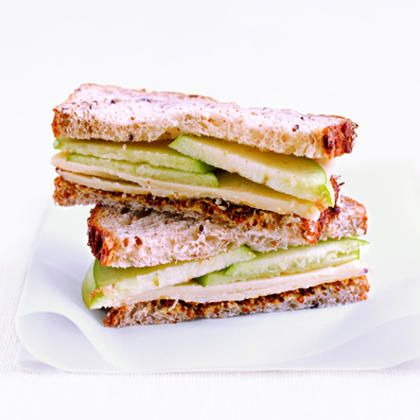 Cheddar and Apple Sandwich add a little fig jam and grill for an added ...