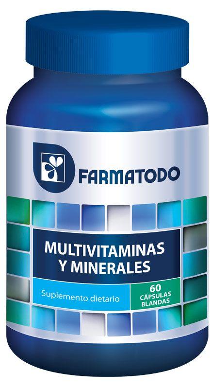 MULTIVITAMINAS Y MINERALES - Farmatodo