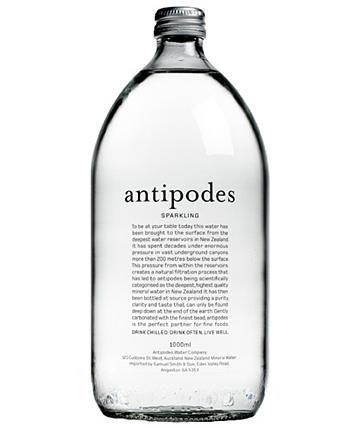 #Packaging - Antipodes water