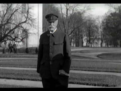 Tomáš Garrigue Masaryk - 1.prezident Československa s proslovem k USA.Ve...
