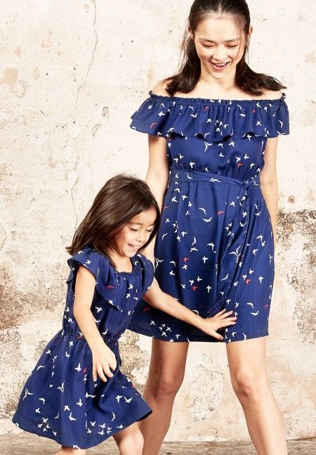 Envie de Fraise // Robegirlbirds - Dress #Family #Collection #EnviedeFraise ღ