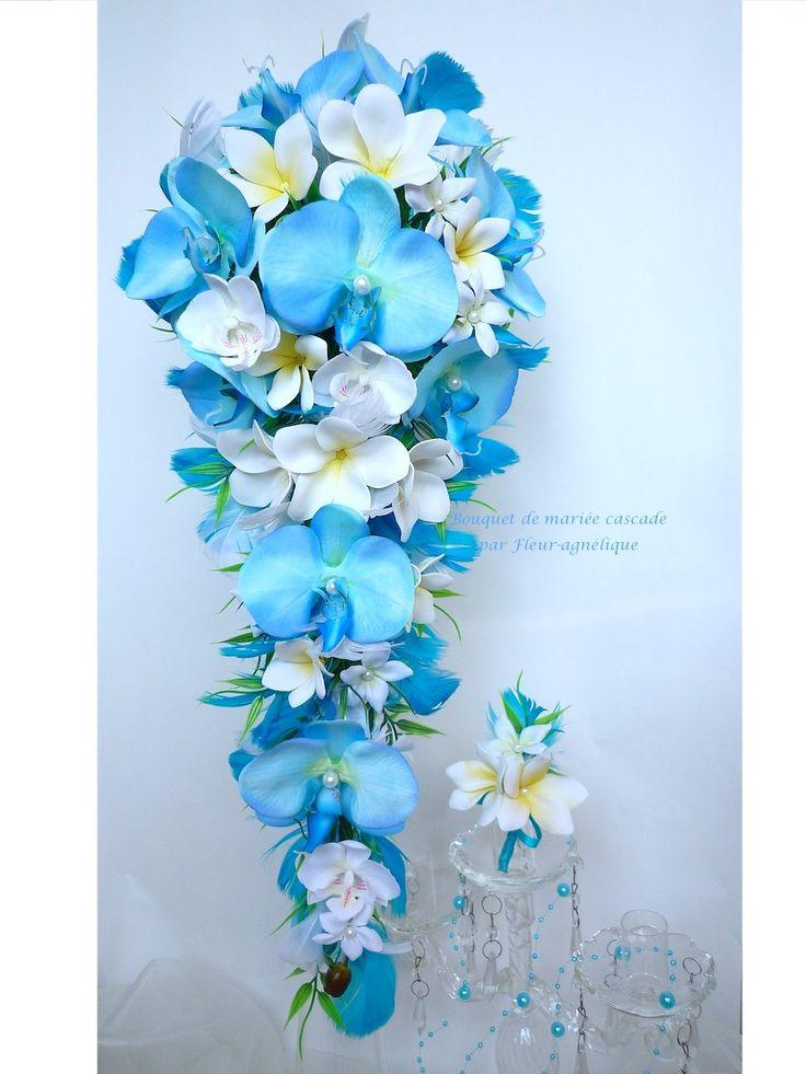 Bouquet de fleur mariage blanc et bleu meilleur blog de photos de mariage pour vous - Bouquet de fleurs de mariage ...