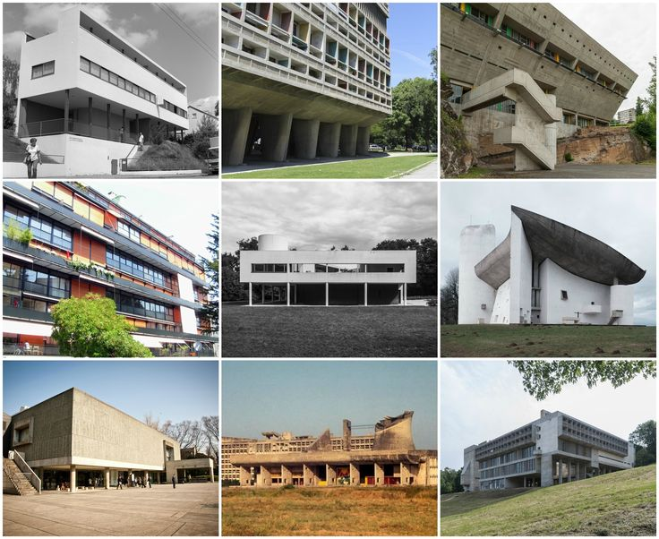 See the 17 Le Corbusier Projects Named as UNESCO World Heritage Sites