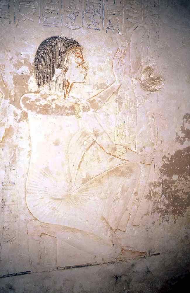 © OSIRISNET.NET. Aye, from the entrance corridor of his Amarna tomb.