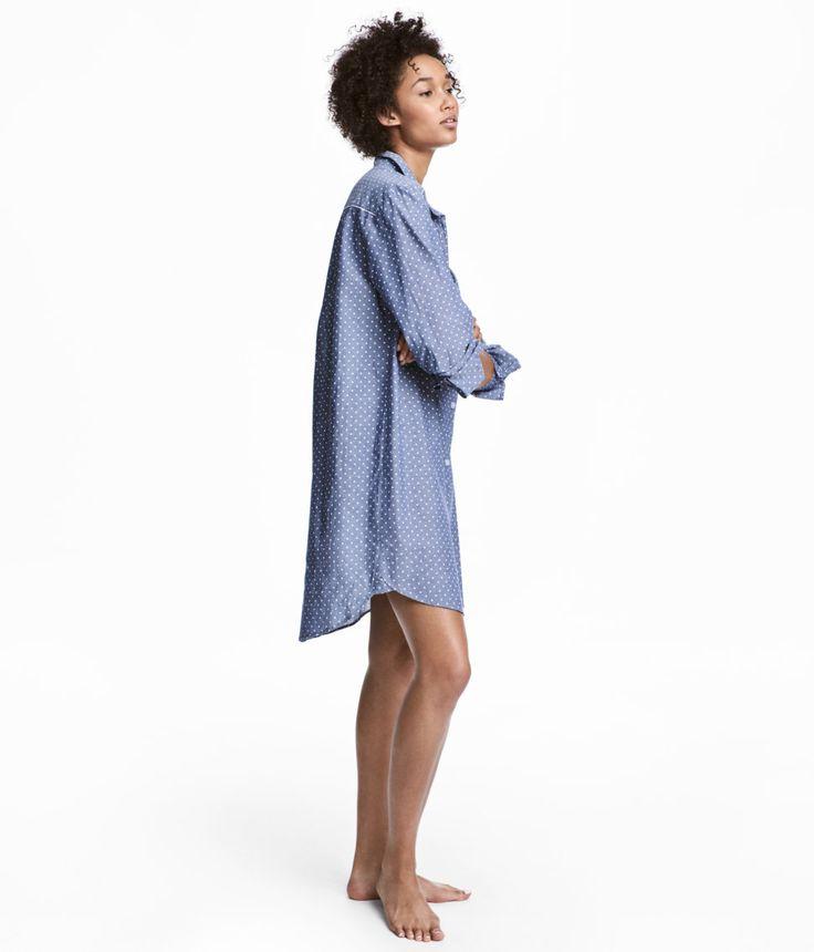 H&M - nattkjole i bomull 199 kr