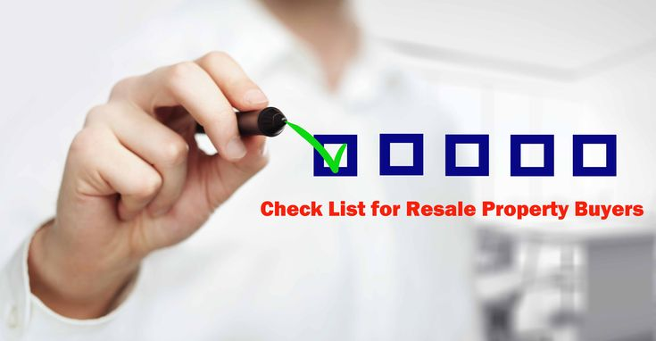 Few check list for #RealEstate land investors should remember before investing or buying resale property.