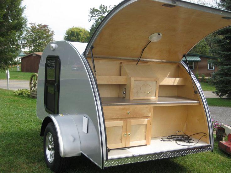 image detail for camper models camp runner teardrop trailers mini caravans teardrops. Black Bedroom Furniture Sets. Home Design Ideas