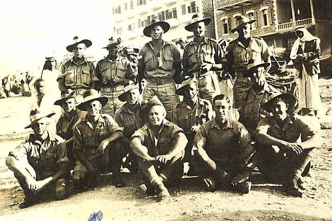 Some of the The Rats of Tobruk The Australian Garrison that held the Libyan port of Tobruk against Rommel's Afrika Korps in the Siege of Tobruk The siege lasted 241 days during 1941