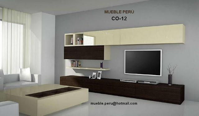 MUEBLES TV: MODERNOS CENTROS DE ENTRETENIMIENTO TV