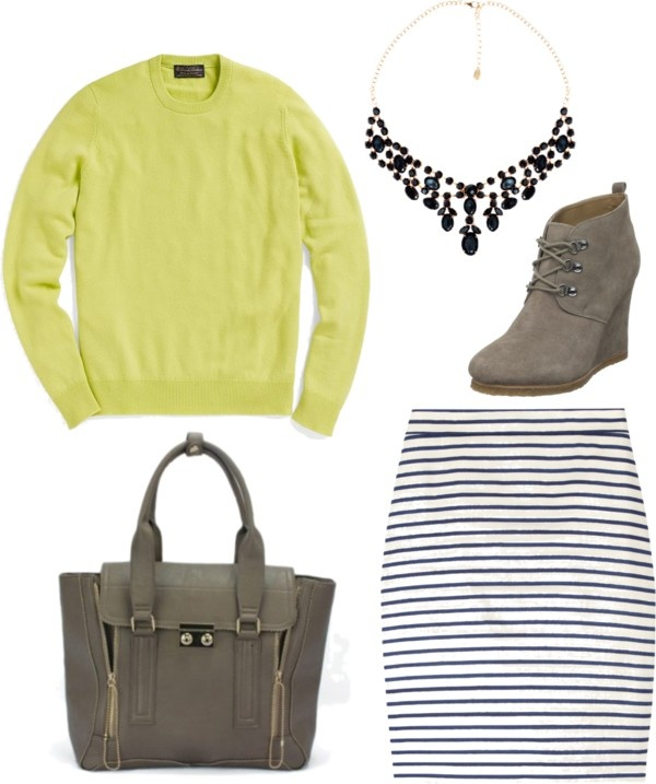 """""""lime green sweater 