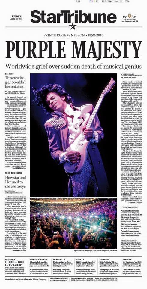 Sad day, April 21st 2016, Purple Majesty gone