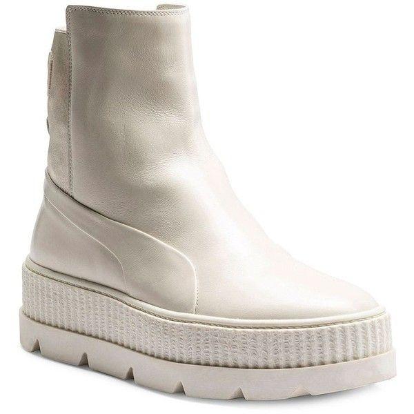 PUMA FENTY Puma x Rihanna Leather Chelsea Sneaker Boots